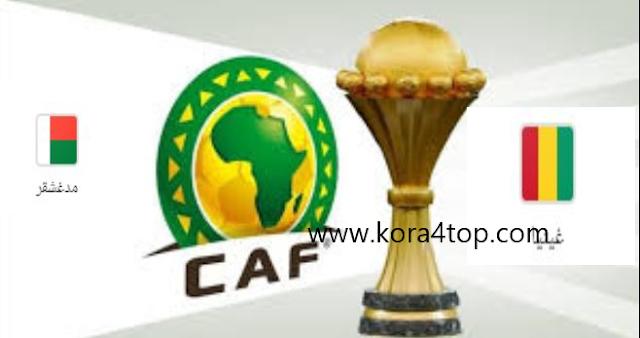 مشاهدة مباراة غينيا ومدغشقر بث مباشر اليوم 22-06-2019 كاس الامم الافريقية 2019 CAN