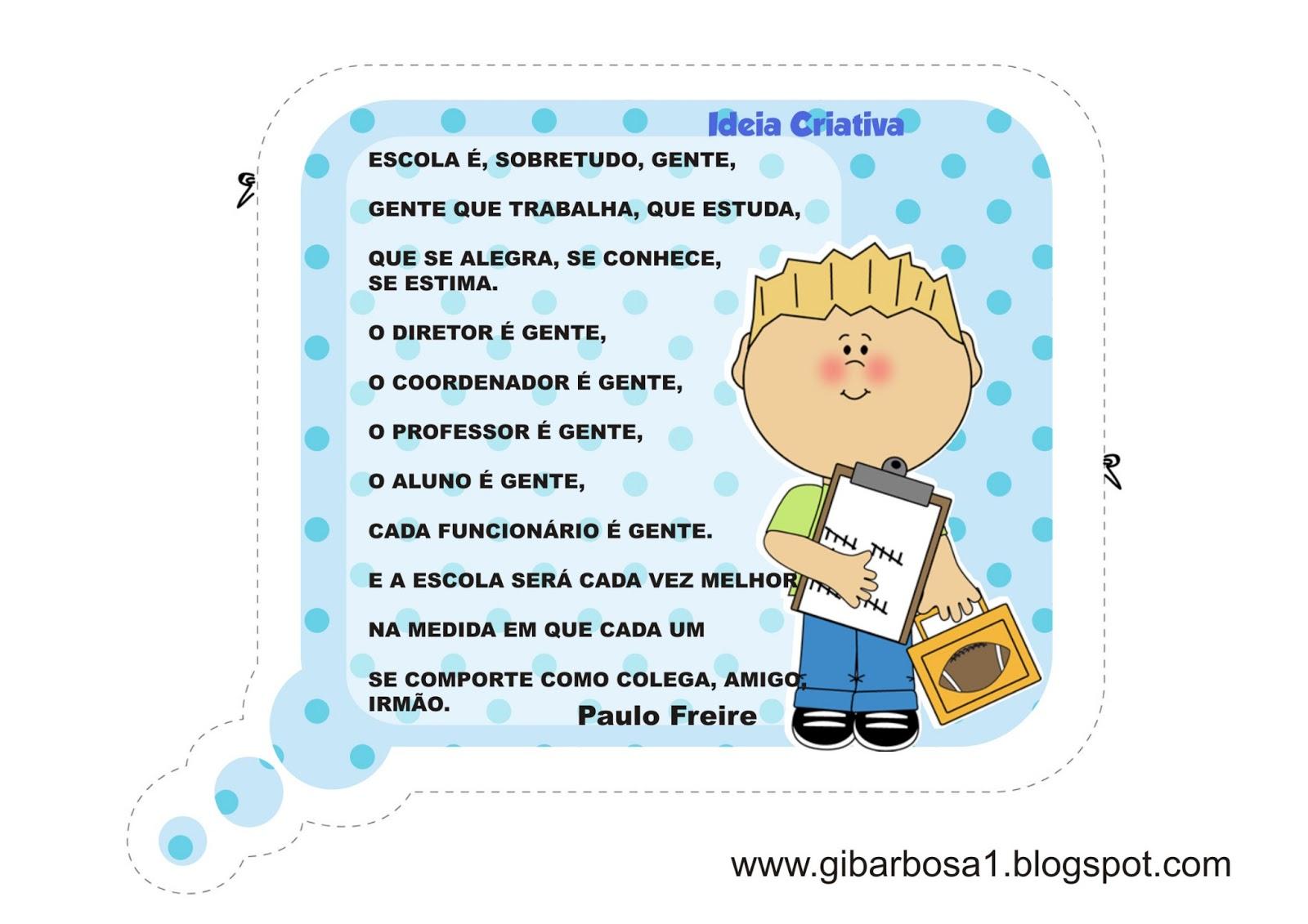 Lipitipi Atividades E Projetos Fundamental I Cartaz Para Pátio De