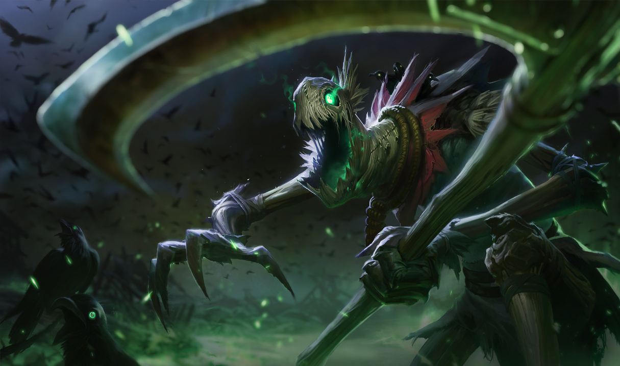 Arte atualizada do Fiddlesticks