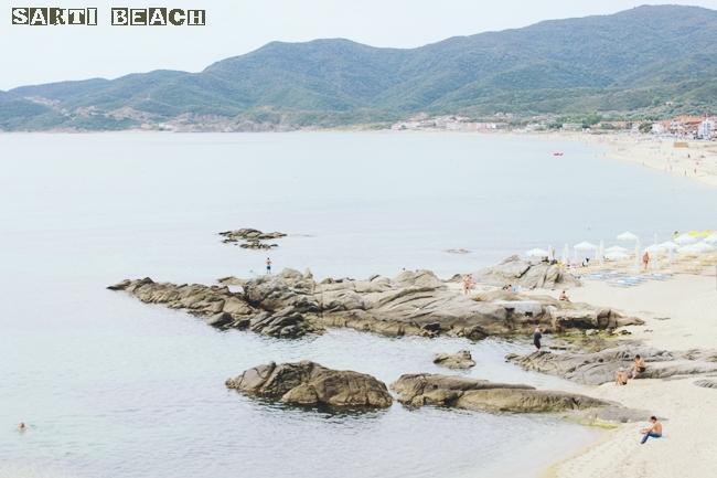 Sarti beach Sithonia Greece