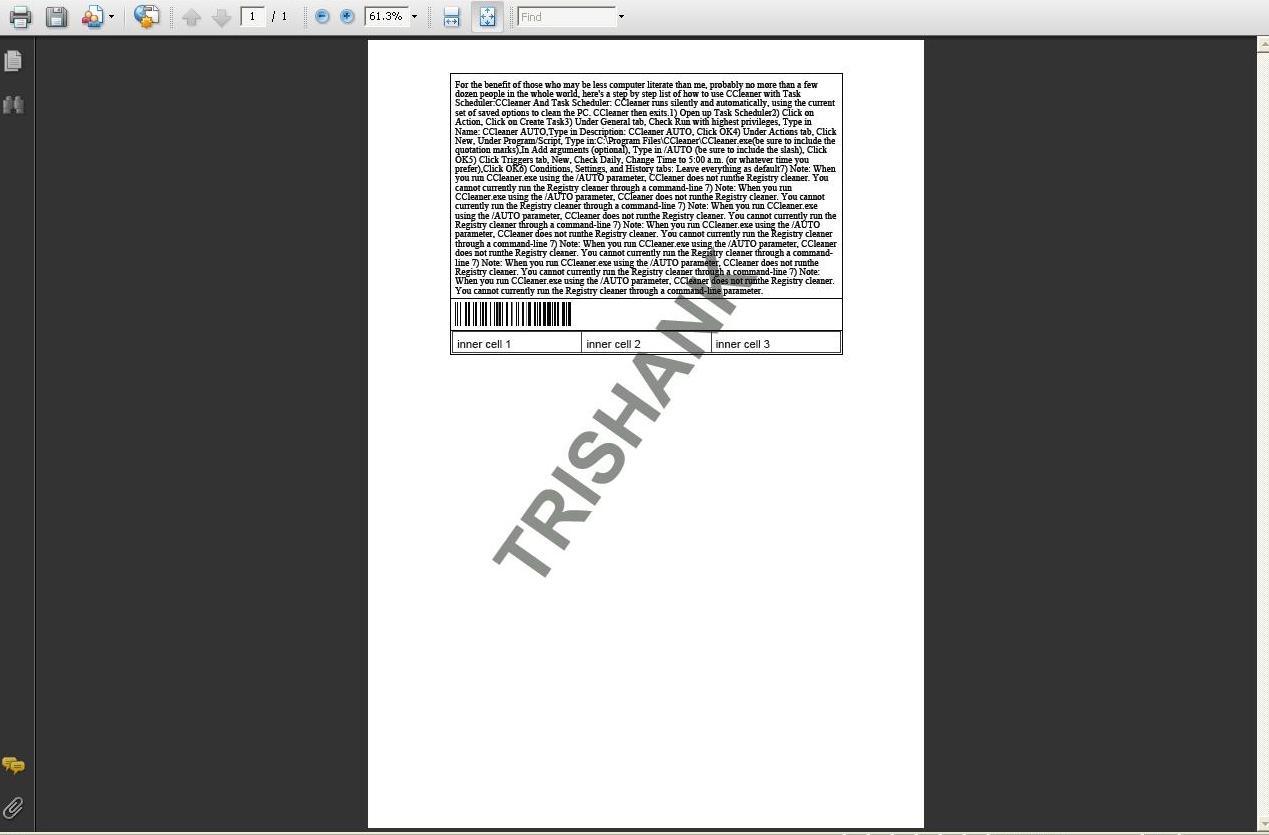 Trishank's Blog                  : Add Watermark to PDF