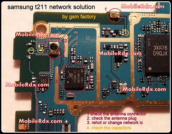 Samsung s5253 network problem solution