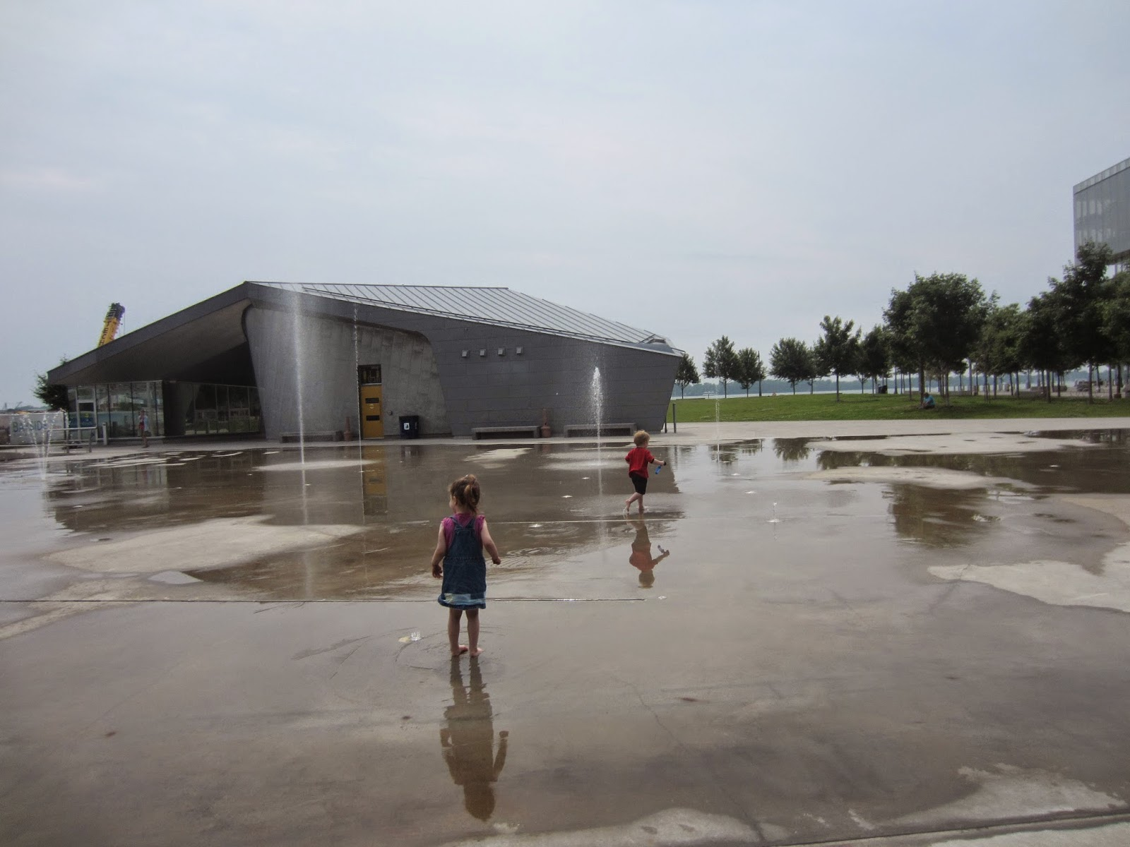 Sherbourne Common Playground Toronto Reviews