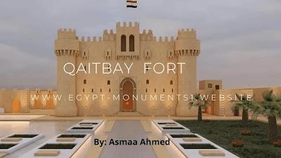Qaitbay fort in Alexandria