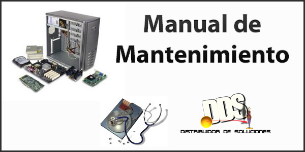 Mantenimiento preventivo: Manual de mantenimiento