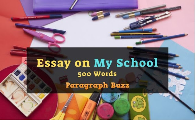Essay on My School