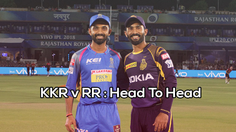 KKR vs RR: Head To Head (H2H) Records | Matches | IPL | Stats