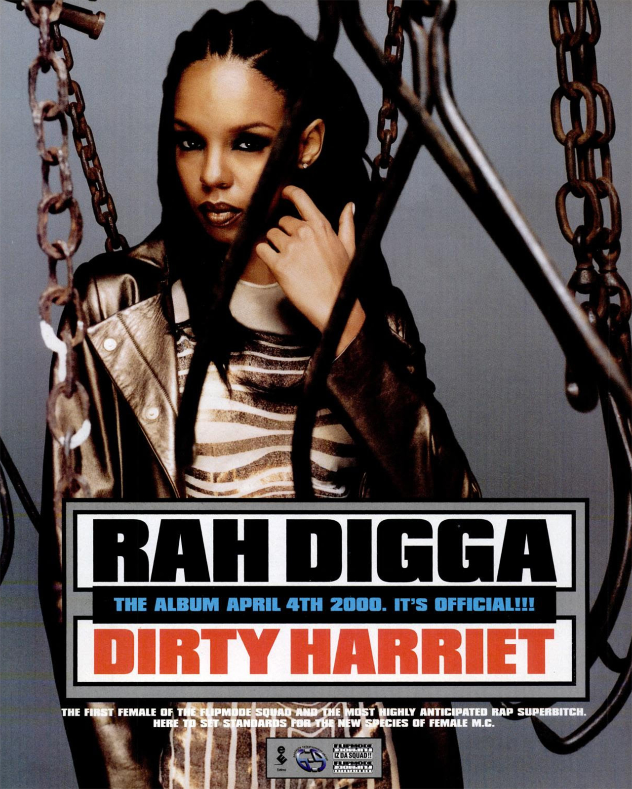 Rah Digga Dirty Harriet Advertisement
