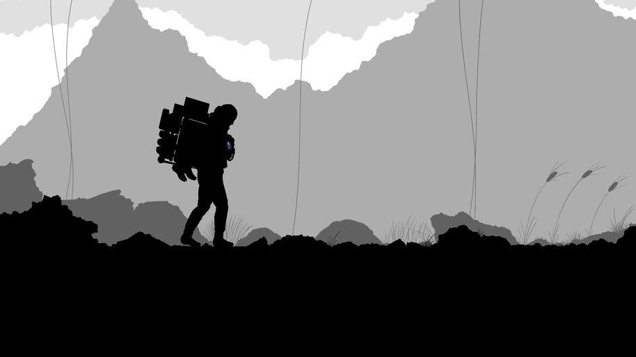 Death Stranding, Minimalist, 4K, #3.713 Wallpaper