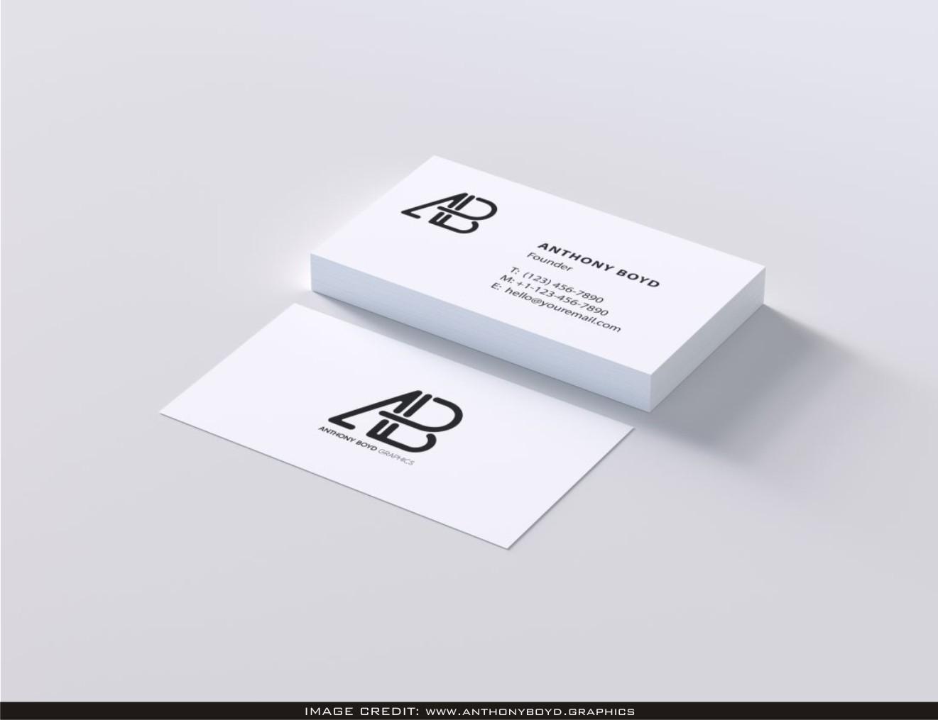modern business card psd mockup free download latest business card