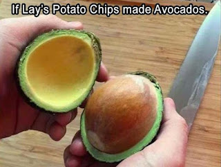 avocado joke, funny picture, lays chips, avocados
