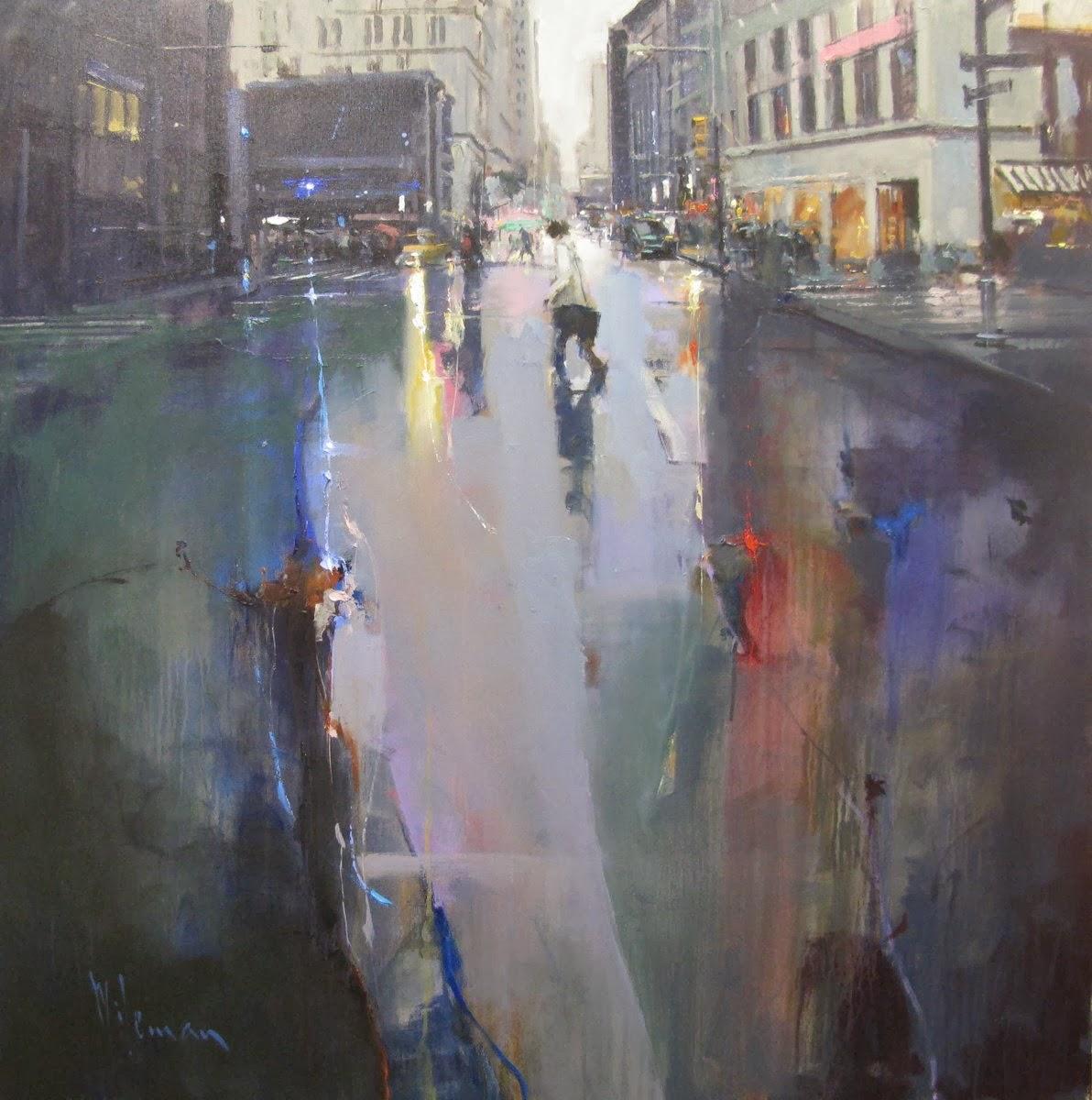 Modern Abstract Art Oil Painting Uk