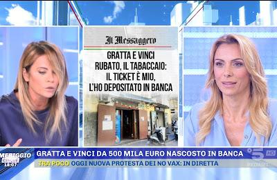 Simona Branchetti hoara borselli pomeriggio cinque 6 settembre