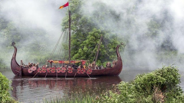 Vikings: Valhalla temporada 1 - Vem aí Vikings: Valhalla | Netflix Brasil   Bastidores