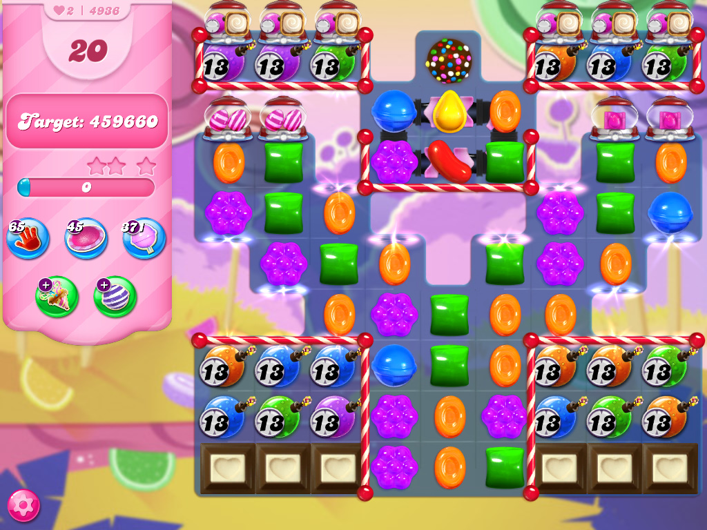 Candy Crush Saga level 4936
