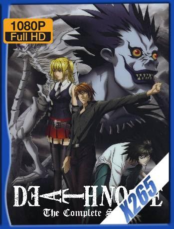 Death Note (2006-2007) Serie Completa [1080p] [x265] Latino [GoogleDrive] Ivan092