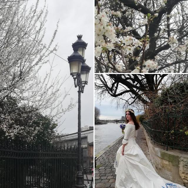 Le printemps arrive, Saint Valentin , Paris