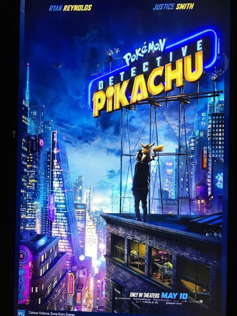 Detective Pikachu on ScreenX