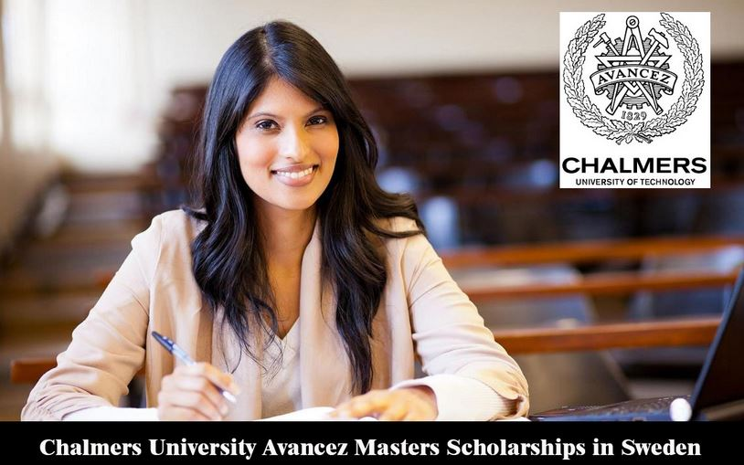 APPLY:Chalmers University Avancez Masters Scholarships in Sweden, 2019