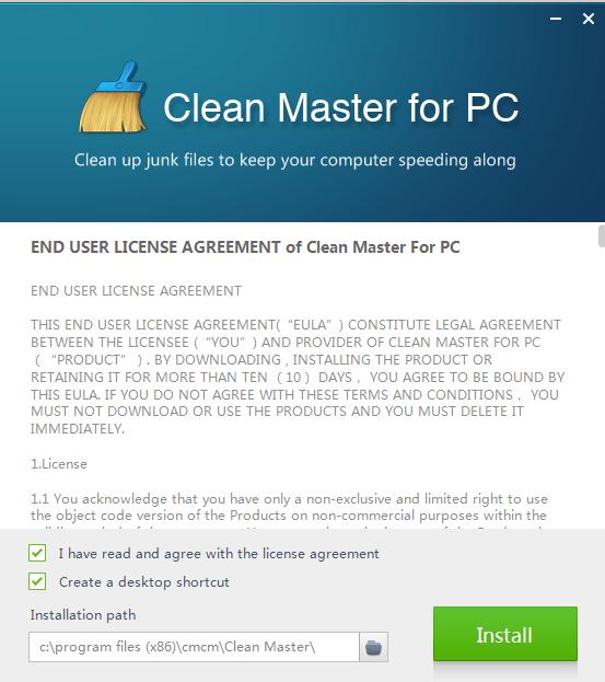 Tải Clean Master, phần mềm dọn rác và tăng tốc máy tính PC miễn phí a