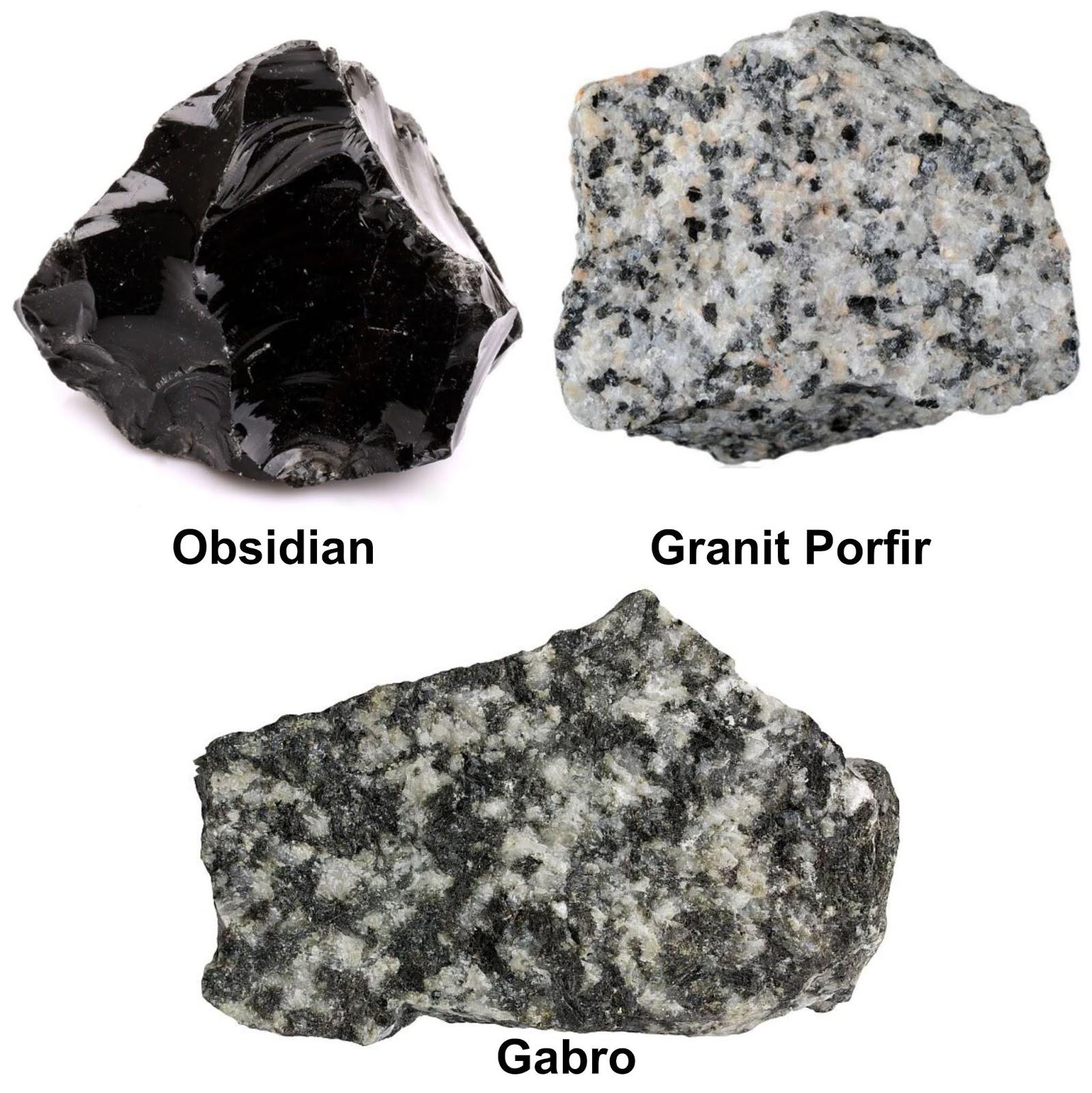 Batuan - Jenis Batuan Beku Dalam Dan Luar