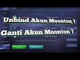 Cara Mudah Daftar dan Unbind Akun Moonton Mobile Legends Terbaru
