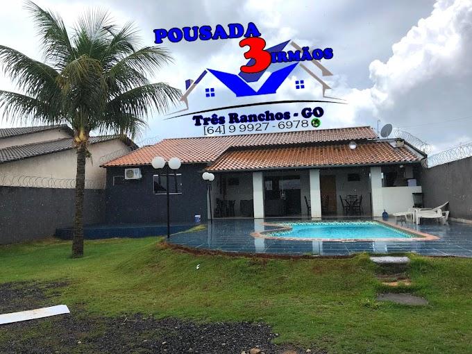 ★ POUSADA 3 IRMÃOS - Procurando aquela Casa para o fim de semana especial com família e amigos..