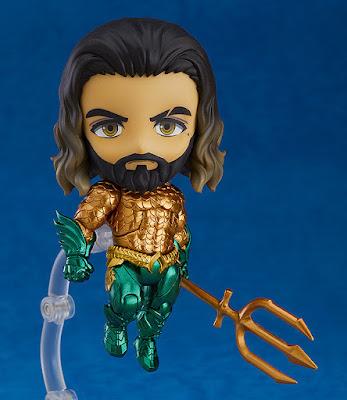"""Figuras: Imágenes y detalles del nendoroid """"Aquaman"""" de DC - Good Smile Company"""
