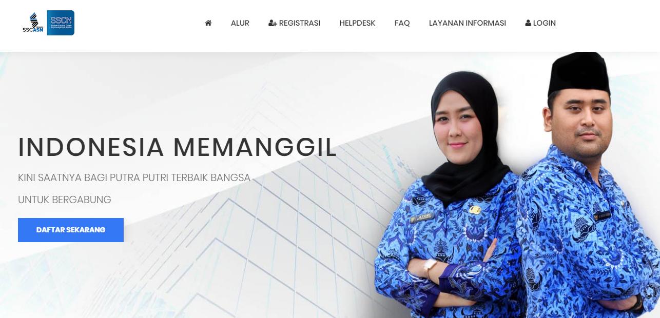 Formasi Seleksi CPNS Provinsi Lampung