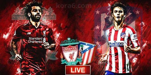 مباراة ليفربول واتليتكو مدريد بتاريخ 11-03-2020 دوري أبطال أوروبا