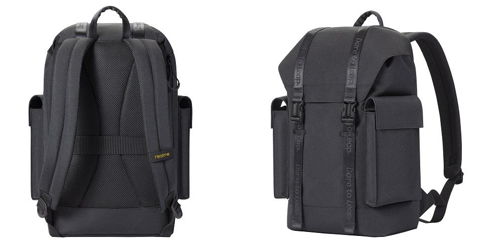 realme adventure backpack