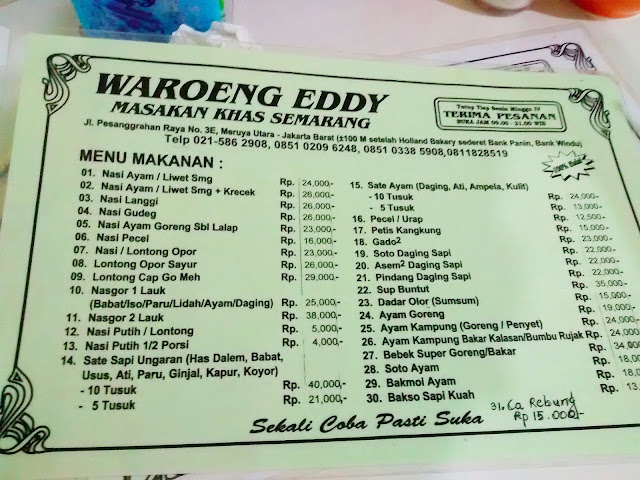Waroeng Eddy pesanggrahan