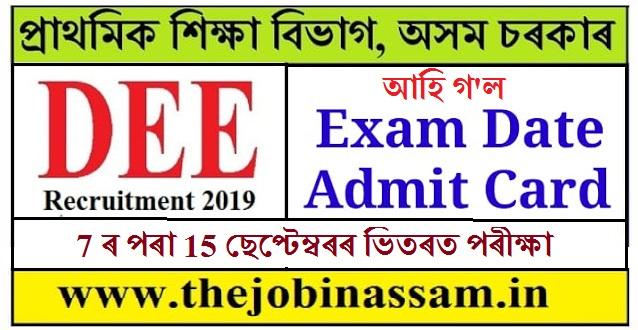 DEE Assam Recruitment of Grade III and Grade IV Posts