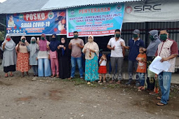 Warga Padang Baru Terima  Bantuan Langsung Tunai Sebesar Rp 600.000