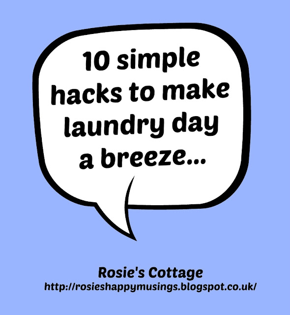 10 simple hacks to make laundry day a breeze..
