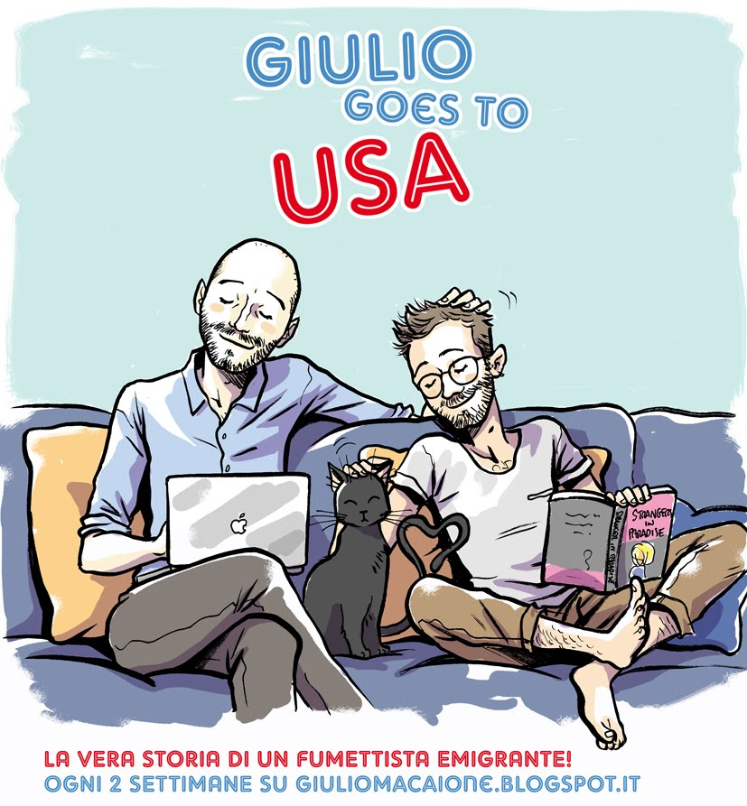 GIULIO GOES TO USA