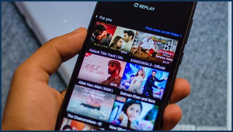 تعطيل توصيات تطبيق Mi Video على هواتف