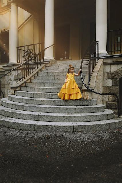 suknia z Pięknej i Bestii