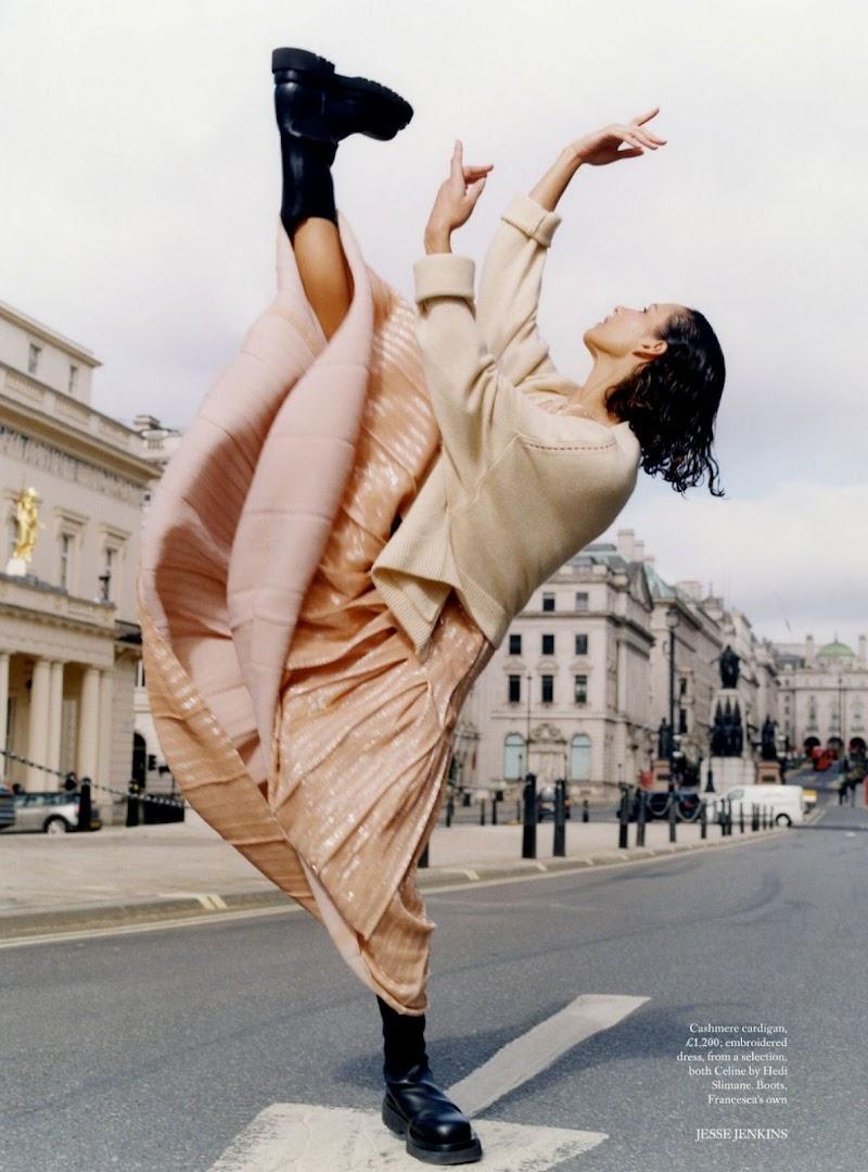 Francesca Hayward Featured in Harper's Bazaar -UK June 2021