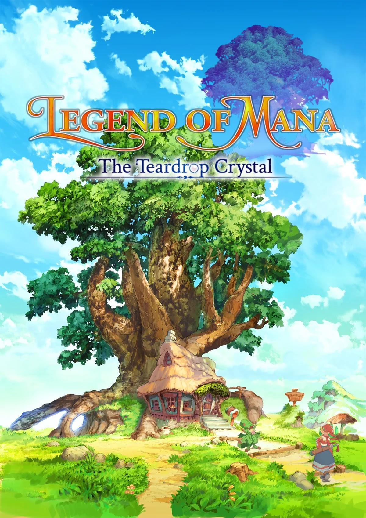 Plakat anime Seiken Densetsu: Legend of Mana - The Teardrop Crystal