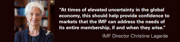 Ms. Christine Lagarde, IMF Managing Director,