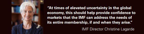 Ms. Christine Lagarde, IMF Managing Director,