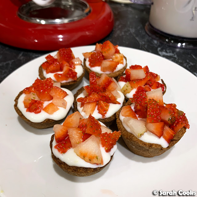 Strawberry Ricotta Tartlets