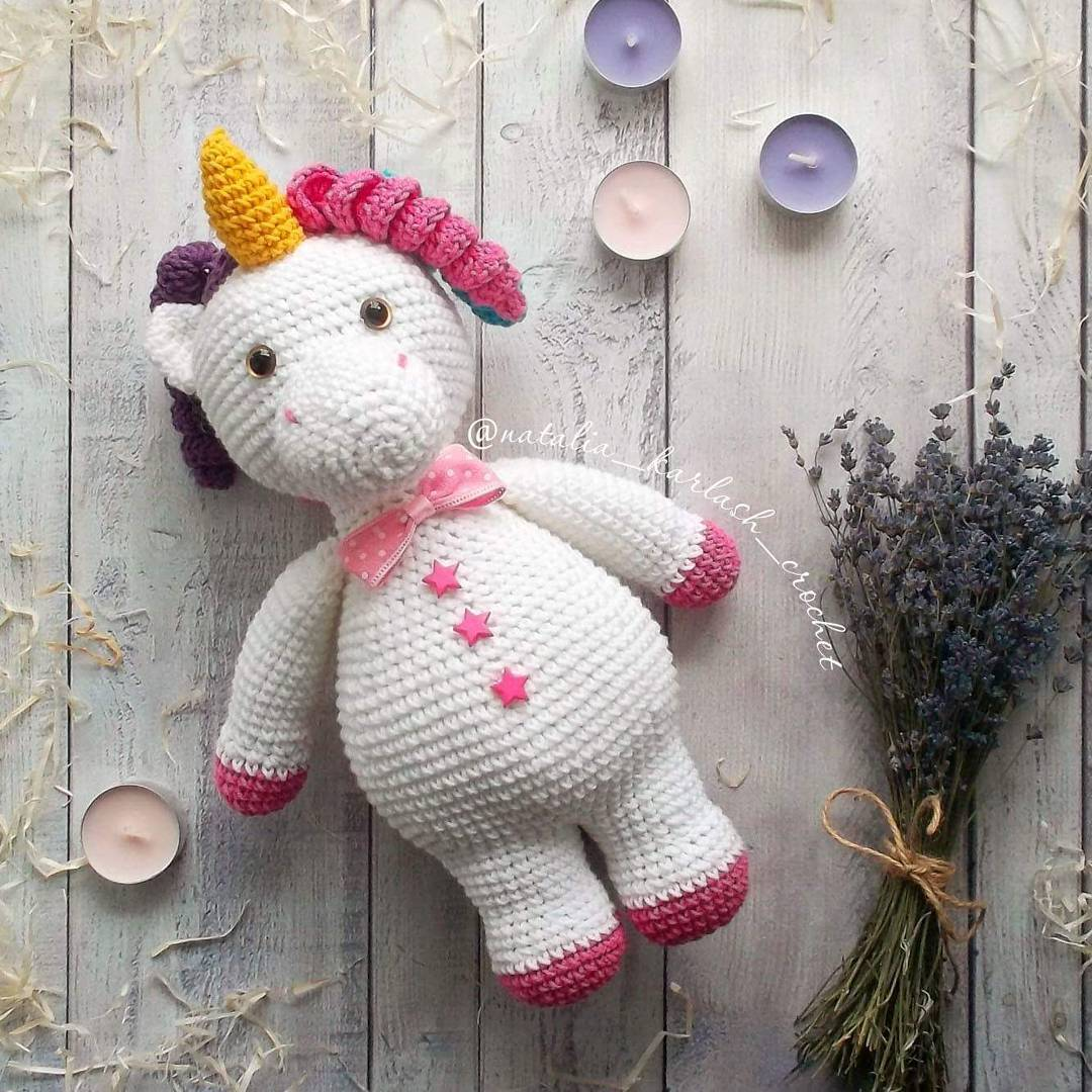 Baby unicorn amigurumi pattern - Amigurumi Today | 1080x1080