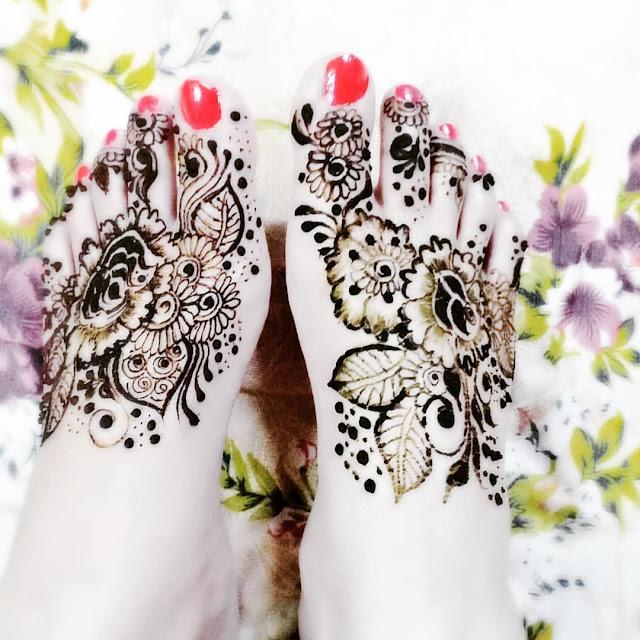 arabic mehndi designs for legs