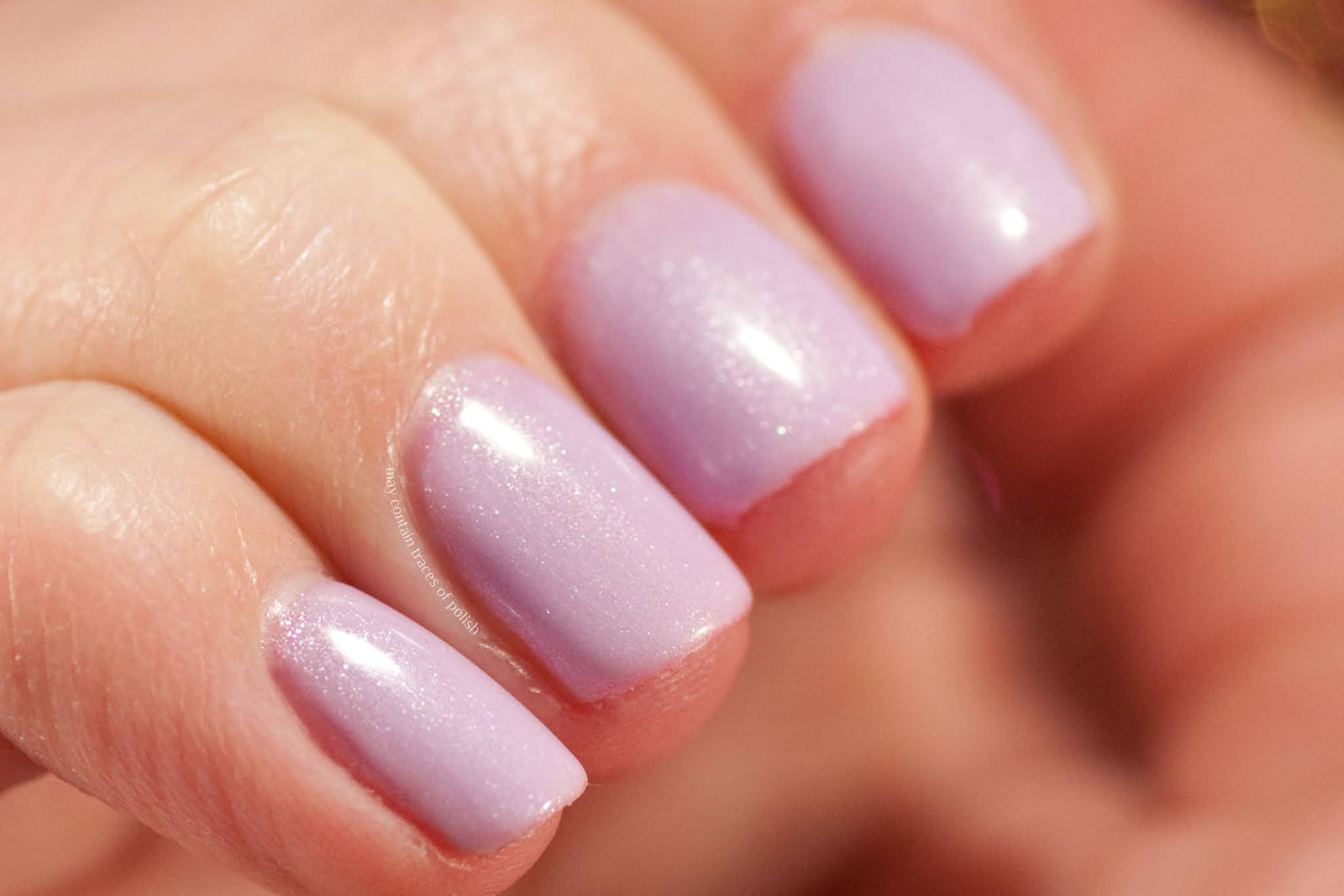 Pink Gellac swatches - 131 Baby lila