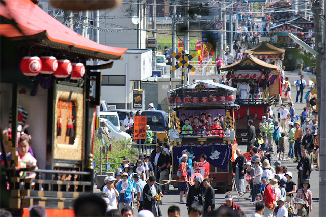 Takahama Shichinen Matsuri, Sakichi Shrine in the coastal town of Takahama, Fukui