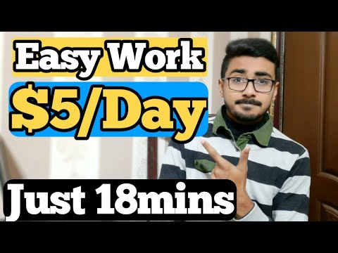 Earn $5/Day With This Easy Skill Earn Money Online Best Part Time Work From Home  HBA Services