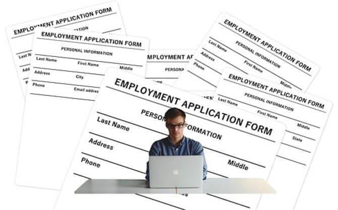 نموذج طلب الحصول على عمل