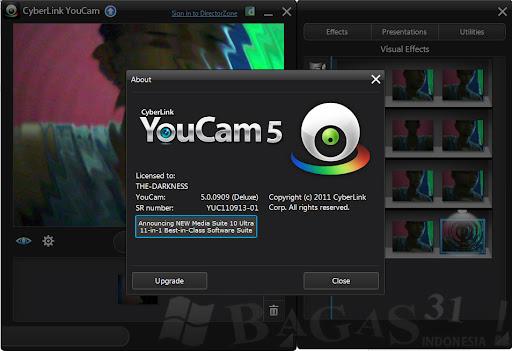 Cyberlink YouCam 5 Deluxe Version - BAGAS31